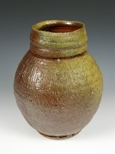 JohnBaymore-YellowShizenyuKabin-MadeInNH-Fired2012atISCAEE-Japan-400w.jpg